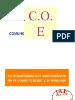 1.1  LA COMUNICACION