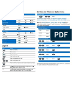 Nortel Conference Phone 2033 Reference Card