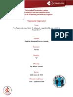 """Moreira Poulette - Ensayo """"La Negociación como factor de éxito en la competitividad empresarial en Tungurahua """".pdf"""