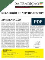 Relatório Anual 2019 - MTG RS