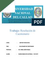 Gestion tecnologica - TALLER 1