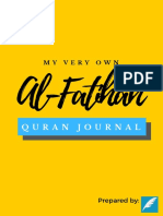 Al-Fatihah Quran Journal (New Cover)