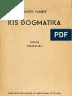Barth Károly - Kis dogmatika