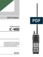 ICOM IC-M88 EN_Parte1