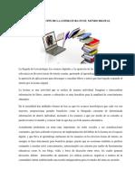 LA EVOLUCION DE LA LITERATURA EN EL MUNDO DIGITAL - ANDREINA