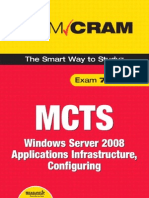 MCTS 70-643 Exam Cram Windows Server 2008 Applications Infrastructure