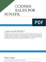INSPECCIONES LABORALES POR SUNAFIL PROTOCOLO DE FISCALIZACIÓN