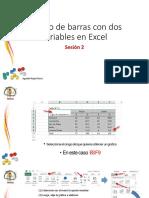Barras Con Dos Variables