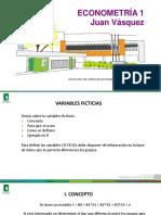 F-VARIABLE FICTICIA ECONOMETRIA