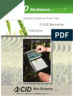 CI-202 Portable Leaf Area Meter Instruction Manual rev2.18.13.en.pt