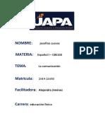 la comunicacion . español I.docx