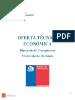 Oferta Tecnica economica DIPRES
