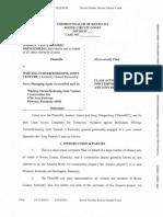 Andrew Vance and Greg Dringenburg v. Whiting-Turner/Kokosing Joint Venture