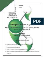 olimpiada regional de quimica uniantioquia