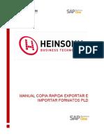 Manual copia rapida exportar e importar formatos PLD
