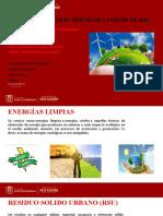 Generación de electricidad a partir de RSU