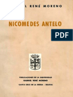 Nicomedes Antelo - Gabriel Rene Moreno