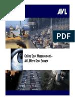 AVL Microsoot sensor