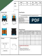 PZ-FQ1010H Series Flat Wire Common Mode Choke