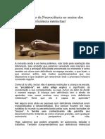 A contribuição da Neurociência no ensino dos alunos com deficiência intelectual