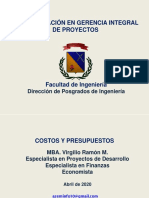 COSTOSYPRESUPUESTOS ABRIL 2020