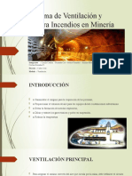 Sistema de Ventilación y Contra Incendios en Minería CARLOS SOTO