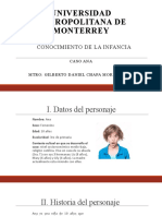 Conocimiento de la infancia - Estudio de caso