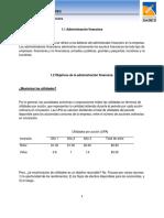 1.1. Administración Financiera 1.2. Objetivos de la Administración Financiera.pdf