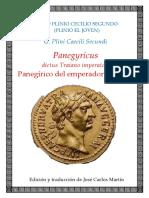 Plinio El Joven-Panegírico de Trajano