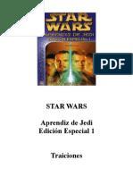 035B Jude Watson - Aprendiz de Jedi Edición Especial 01 - Traiciones
