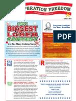 Blue Star Card Newsletter January 2011