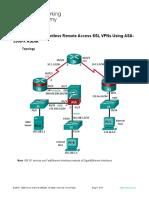 10.3.1.1 Lab - Configure Clientless Remote Access SSL VPNs Using ASA 5506-X ASDM.docx