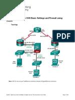 10.1.4.8 Lab - Configure ASA 5505 Basic Settings and Firewall Using ASDM.docx