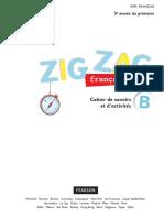 Livre Françcais Zig Zag