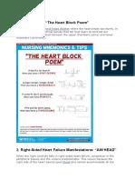 cardiovascular mnemonics