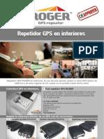 ROGER - Repetidor GPS para interiores