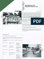 trabajamos con pequeños proyectos -  Maita Cordero - RI 31 - Mayo-junio-1995