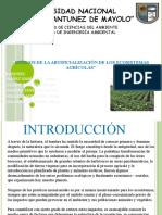 artifiacilazacion de agroecosistemas.pptx