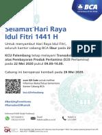 Pengumuman - B2B Pertamina - KCU Palembang