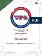 Actividad 2 y 3 Reglas de Acentuación.pdf