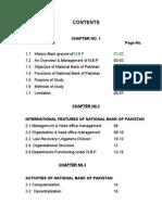 Internship Report NBP