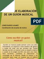EVIDENCIA 13 AA12 TECNICAS DE ELABORACION DE GUIONES MUSICALES