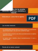 EVIDENCIA 9 AA3 RECONOCIMIENTO DE LAS ESCALAS MENORES.pptx