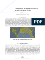 Application Of Machine Learning To Aircraft Conceptual Design