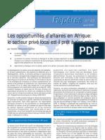 OCDE - Secteur privé Afrique