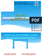 Adaptation in Plants PPT-2