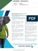 Actividad de puntos evaluables - COSTOS Y PRESUPUESTOS