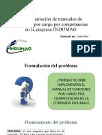 Implementación de manuales de funciones por cargo en
