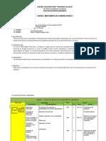 PLANIFICACION MATEMATICAS FINANCIERAS I 2019