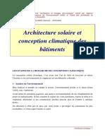 EBOOK - AMENAGEMENT - ARCHITECTURE SOLAIRE ET CONCEPTION CLIMATIQUE DES  BATIMENTS.pdf